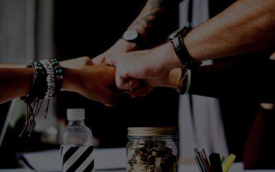 DevOpsChat with Jose Casal & Luke Hohmann - Collaboration Frameworks - Fists together